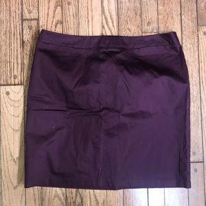 💜New York & Company Purple Mini Skirt Professiona